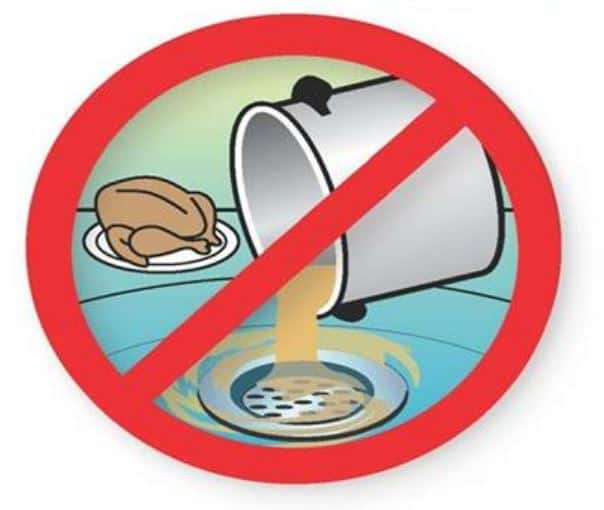Don't Put Fats, Oils and Grease Down the Drain - Calaveras County Water  District