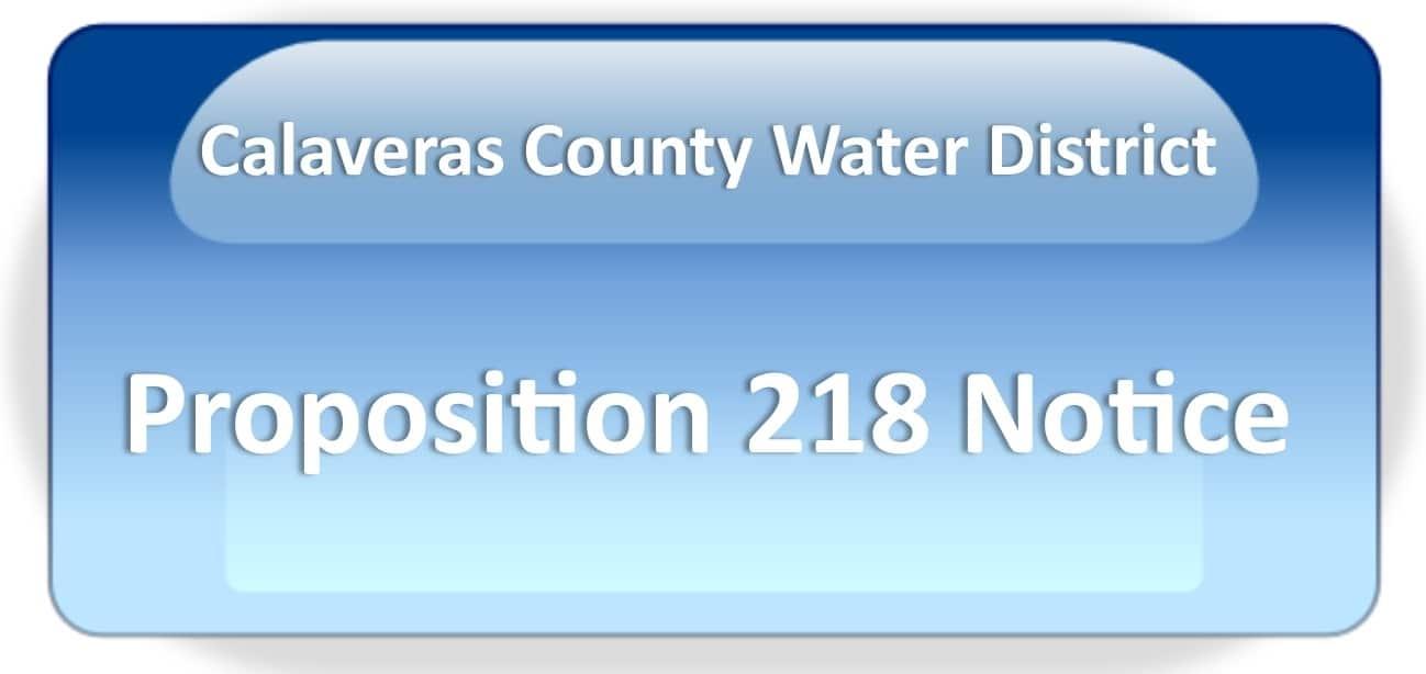 CCWD Prop. 218 Notice