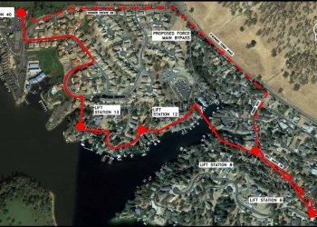 Lake Tulloch Sewer Improvements