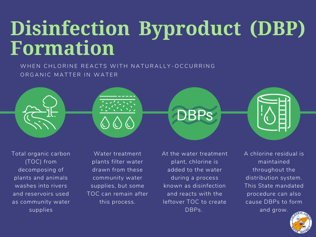 Disinfection Byproduct (DBP) Formation
